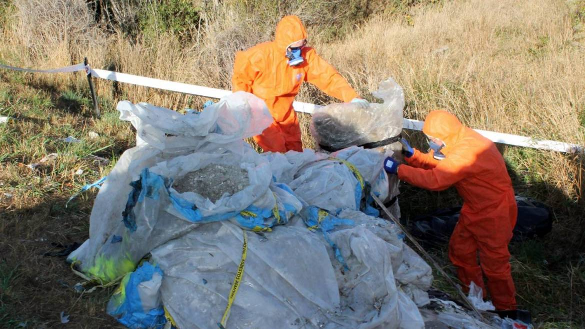 Illegally dumped asbestos beside the river leaves ratepayers with costly clean up bill