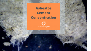 Asbestos Cement Concentration
