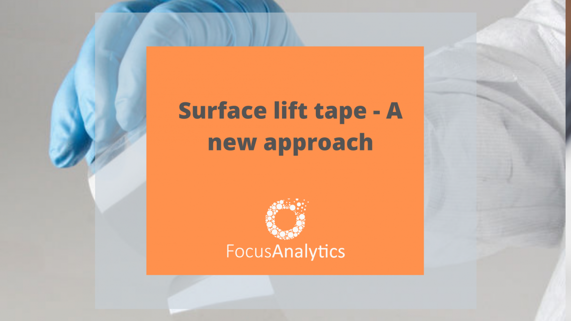 Focus Provides Forensic Gel Lifts for Surface Sampling